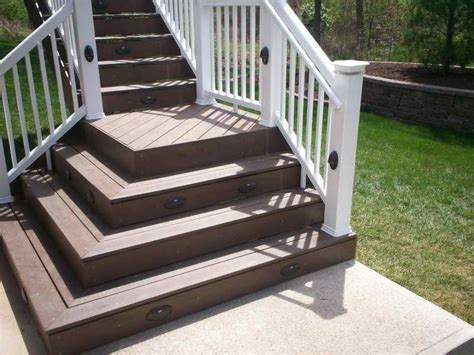 beautiful building outdoor stairs  deck stair design