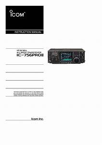 Icom Service Manual Ic 756 Pdf Download