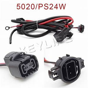 5202 2504 Ps24w H16 Adapter Fog Lights Relay Wiring