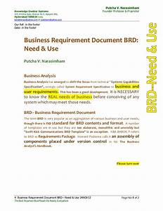 business requirement document brd need and use