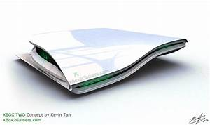 XBox 2 Console Concept By Kevin Tan