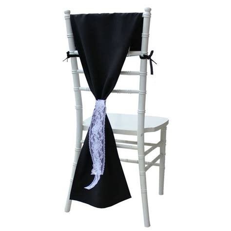 25 best ideas about black chair covers on