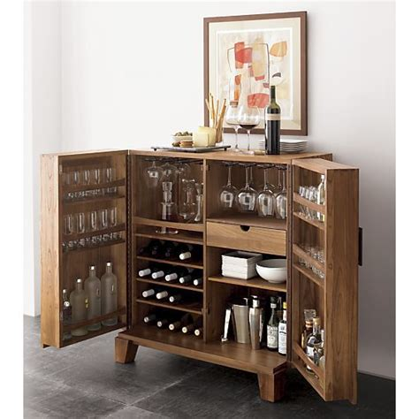Crate And Barrel Bourne Bar Cabinet by Crate And Barrel Bar S Office