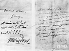 Handwritten letters from George Sand (1804-1876) to ...