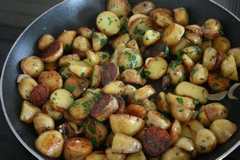 cuisiner des pommes de terre ratte pommes de terre sautées cooking