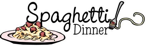 Spaghetti Dinner Clip Spaghetti Cliparts
