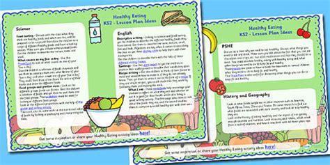 Healthy Eating Lesson Plan Ideas Ks2  Healthy Eating, Ks2