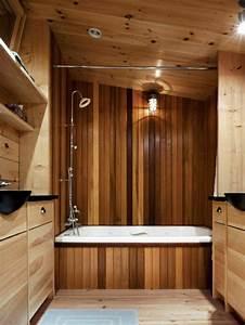 Holz Für Badezimmer : waschtisch aus holz f r mehr gem tlichkeit im bad ~ Frokenaadalensverden.com Haus und Dekorationen