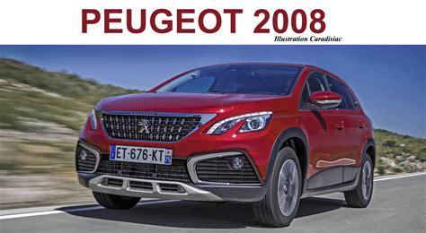 Peugeot Modelle 2019 by Futur Suv Peugeot 2008 Il Arrive En 2019
