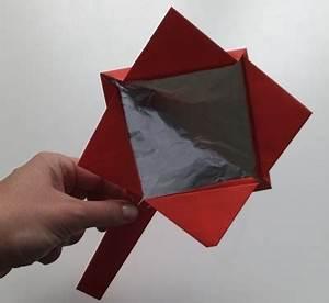 Spiegel Zum Basteln : spiegel aus papier basteln f r kleine kinder ~ Orissabook.com Haus und Dekorationen