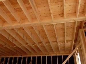 Faire Un Plancher Bois : construction de la charpente du plancher ~ Dailycaller-alerts.com Idées de Décoration