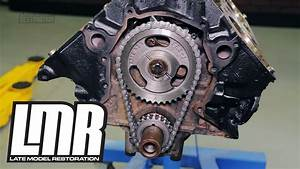How To Install 302  351 Mustang Camshaft  U0026 Timing Chain  79