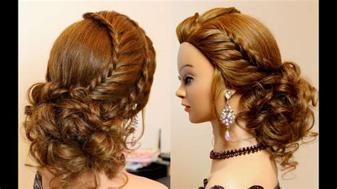 hairstyle  long hair tutorial cute prom updo