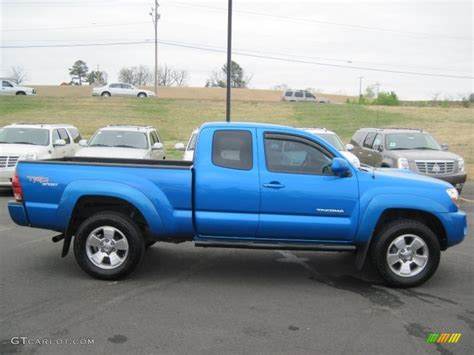 2005 Tacoma Prerunner by 2005 Speedway Blue Toyota Tacoma Prerunner Trd Sport