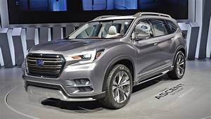 Subaru Ascent Three-row Suv Set For 2018 Launch