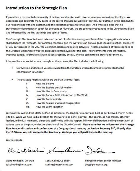 church strategic plan template   links