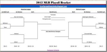 Free Excel Spreadsheet Templates Excel Spreadsheets Help Printable 2012 Mlb Playoff Bracket