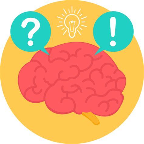 thinking brain png brain free icons