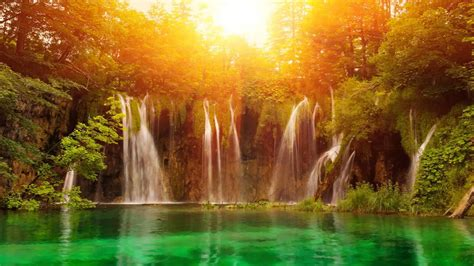 Beautiful Nature Background by Nature Motion Background Highnoon Falls