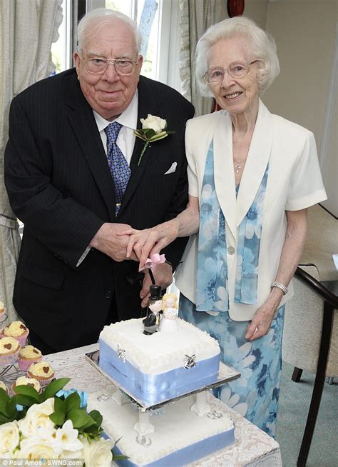 86 Year Old Bride with Groom