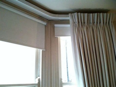 Curtain Track Bay Window by Is This What You Curtains Just With A Pleat