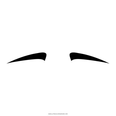 Coloring Eyebrows by Dibujo De Cejas Para Colorear Ultra Coloring Pages