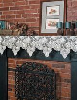 mantel runners images  pinterest