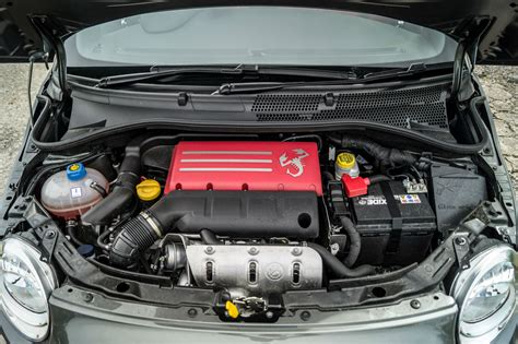 Fiat 500 Motor by Abarth 500 595 Review Pocket Rocket Carwitter