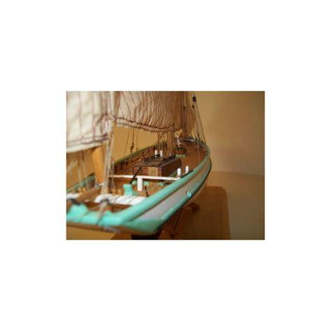 bisquine la granvillaise maquette bateau bois 224 monter 1 50 soclaine
