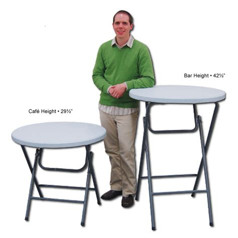 trade show round tables showgoer bar height round table epic displays