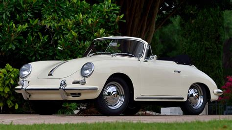 1962 Porsche 356b Super 90 Cabriolet 90 Hp, 4-speed