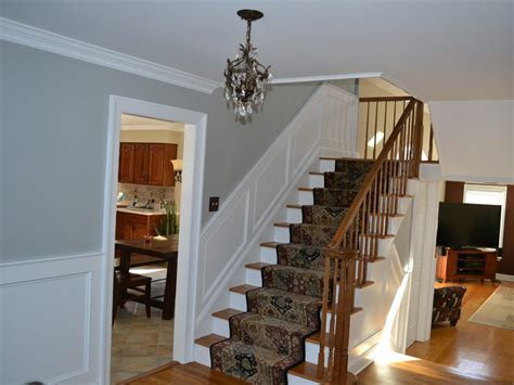 Recessed Wainscoting by Recessed Wainscoting Installation And Painting Chester