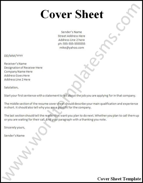 How To Do My Resume Free by What Goes On The Cover Page Of A Resume Vvengelbert Nl