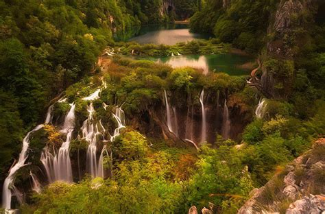 fondos de pantalla de hermosos paisajes de cascadas