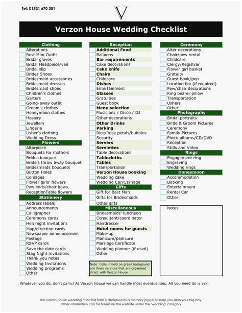 new wedding decor checklist icets info