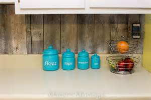 cheap backsplashes for kitchens reclaimed wood kitchen backsplash remodelaholic