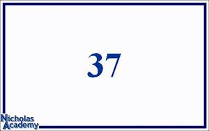 Fifty Number Chart Roman Numeral Flash Cards 37 To 45