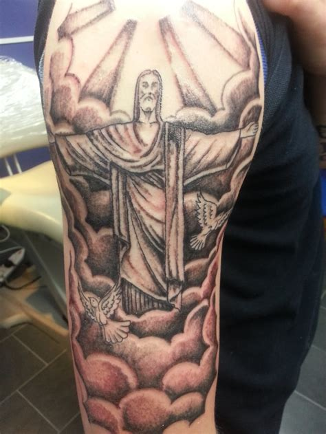 fresh cloud tattoo sleeve   man woman tattoo images