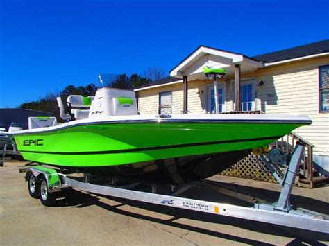 Epic Boats For Sale Georgia by 2016 New Epic 23sc Center Console Fishing Boat For Sale
