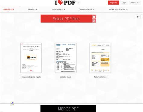 Unire Diversi Pdf by Come Unire Due Pdf In Un Unico File