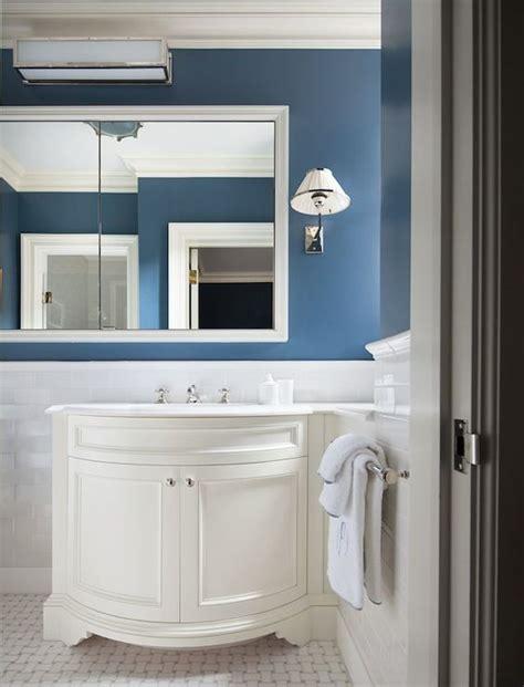 curved sink vanity transitional bathroom mark