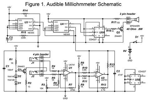Build An Audible Milliohmmeter