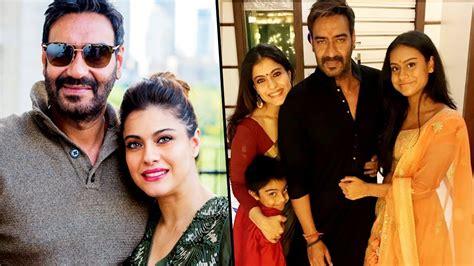 actress kajol husband photos kajol devgan family photos with daughter son husband