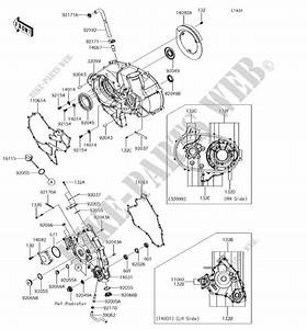 Engine Covers For Kawasaki Teryx 4 2018   Kawasaki