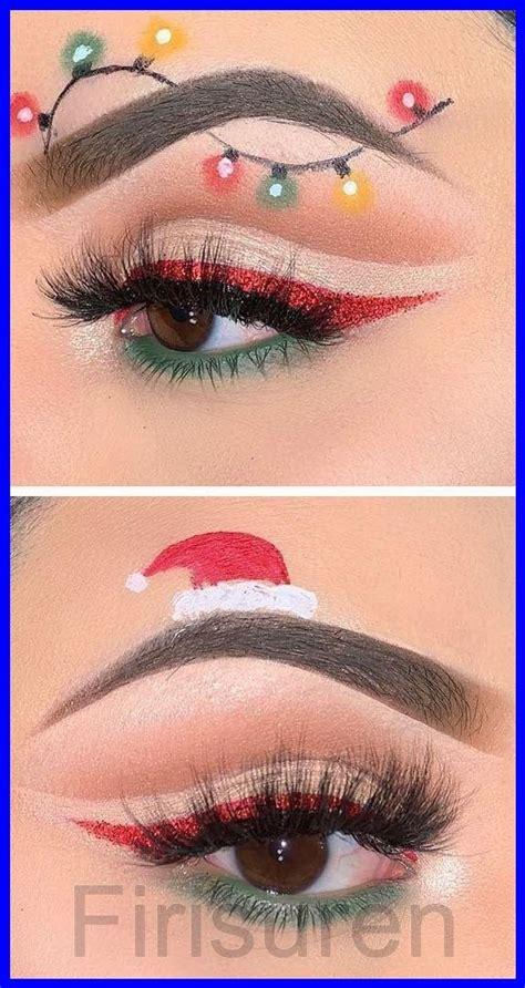 christmas makeup easy maquillaje  navidad maquillaje de navidad ojos maquillaje de ojos