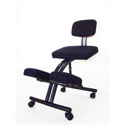 ergonomic office kneeling chair knee posture sit back stretch exercise ebay
