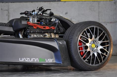 ferrari powered wazuma vf quad bike   comeback  matte edition