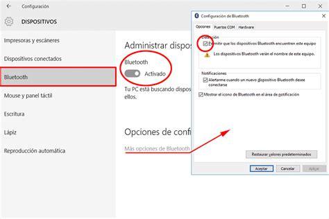 si鑒e de microsoft soluciones si el bluetooth de windows 10 no funciona