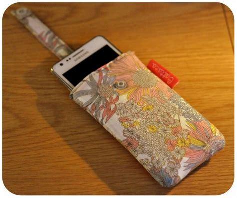 tuto housse telephone portable tutoriel diy housse 233 tui smartphone portable mobile languette tirette couture