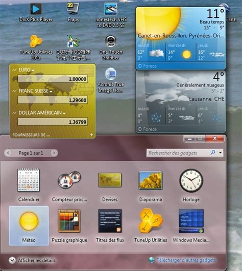 telecharger gadget meteo windows 7 gratuit